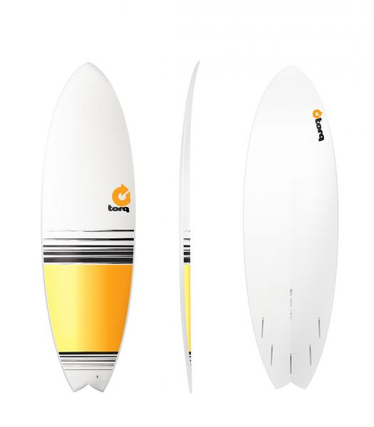 Surfboard TORQ Epoxy TET 5.11 Fish Fade