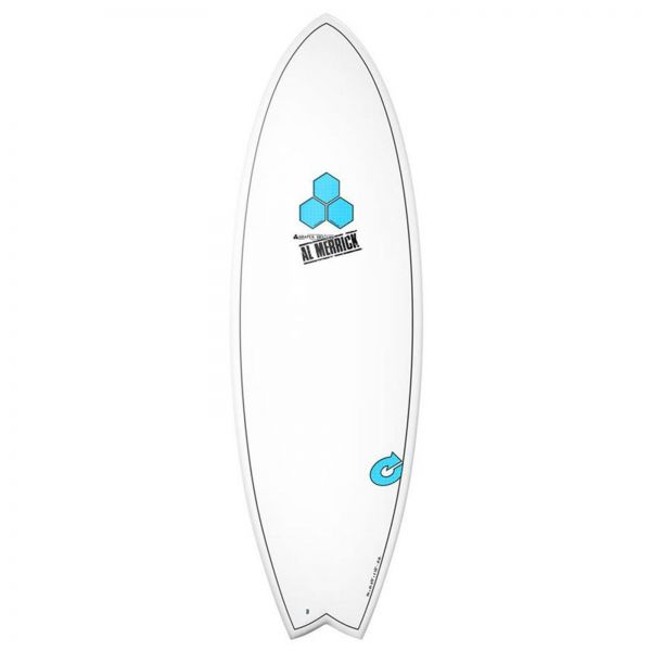Surfboard CHANNEL ISLANDS X-lite Pod Mod 5.6 weiss