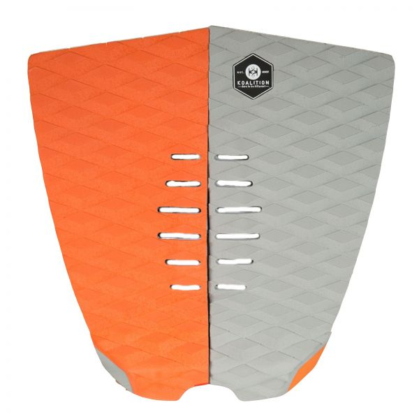 KOALITION Footpad Deck Grip BARREL Orange-Grau 2pc