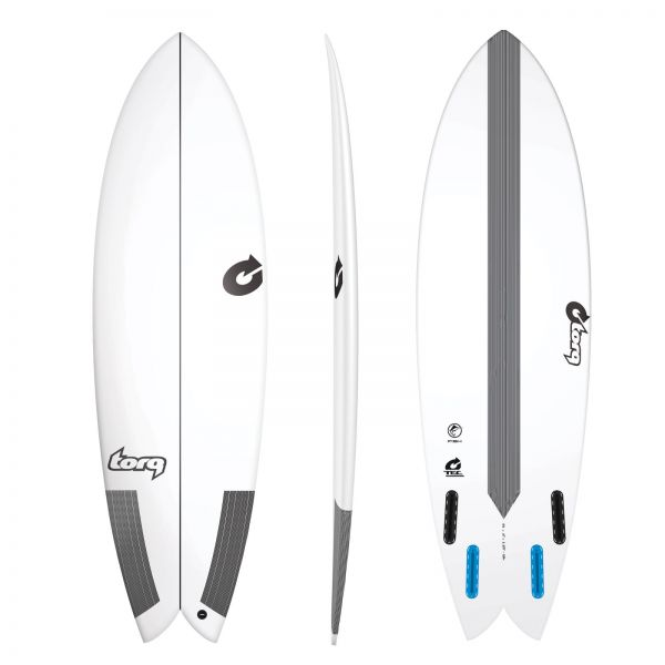 Surfboard TORQ Epoxy TEC Fish 5.10