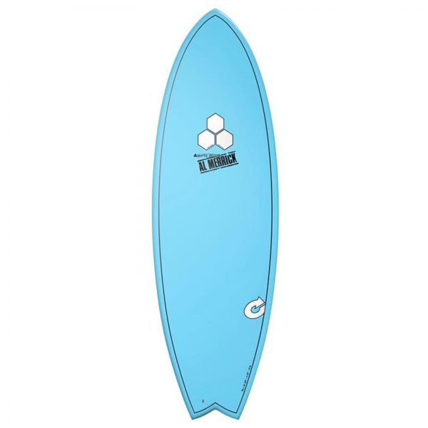 Surfboard CHANNEL ISLANDS X-lite Pod Mod 6.6 blau